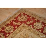 10' X 14' Elegant Fine Quality Handmade Hand Knotted Rug.