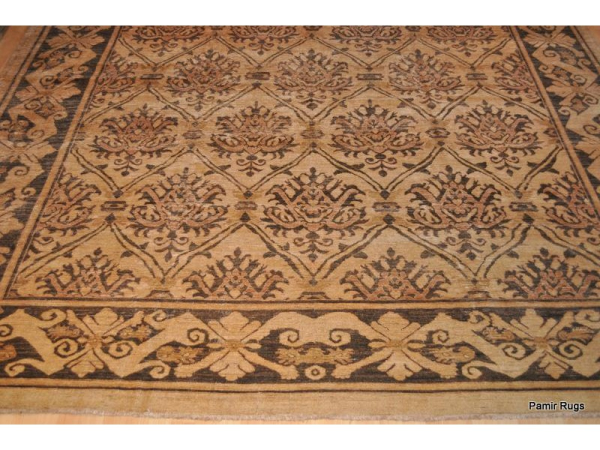 Extra Large Vegetable Dye Rug Soft Colors Finely Woven