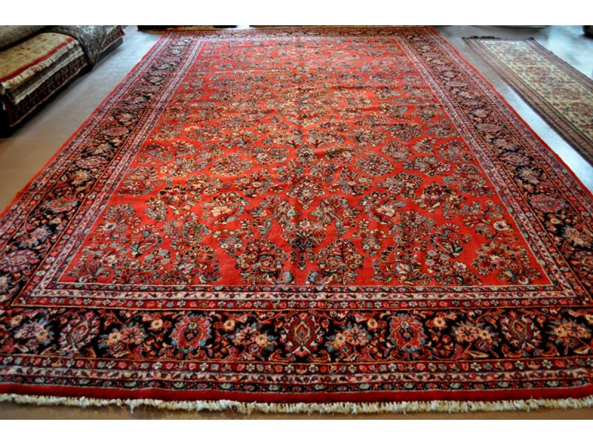 Sold Out Sarouk Persian Rug Large Size