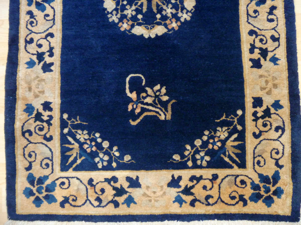 Royal Blue Chinese Rug From Elegantorientalrugs Com