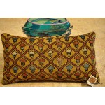 An Antique Caucasian Antique Gold Pillow
