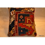 19th Century Handmade Caucasian Shirvan Pillows