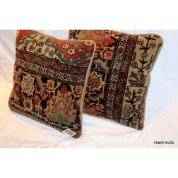 Elegant Pair of Handmade Faharan Pillow