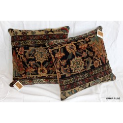 Pair of 19th Century Persian Sarouk Pillows