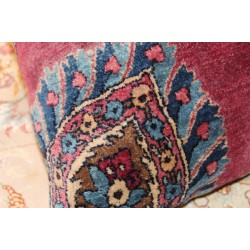 Large Handmade Pillow Kashan
