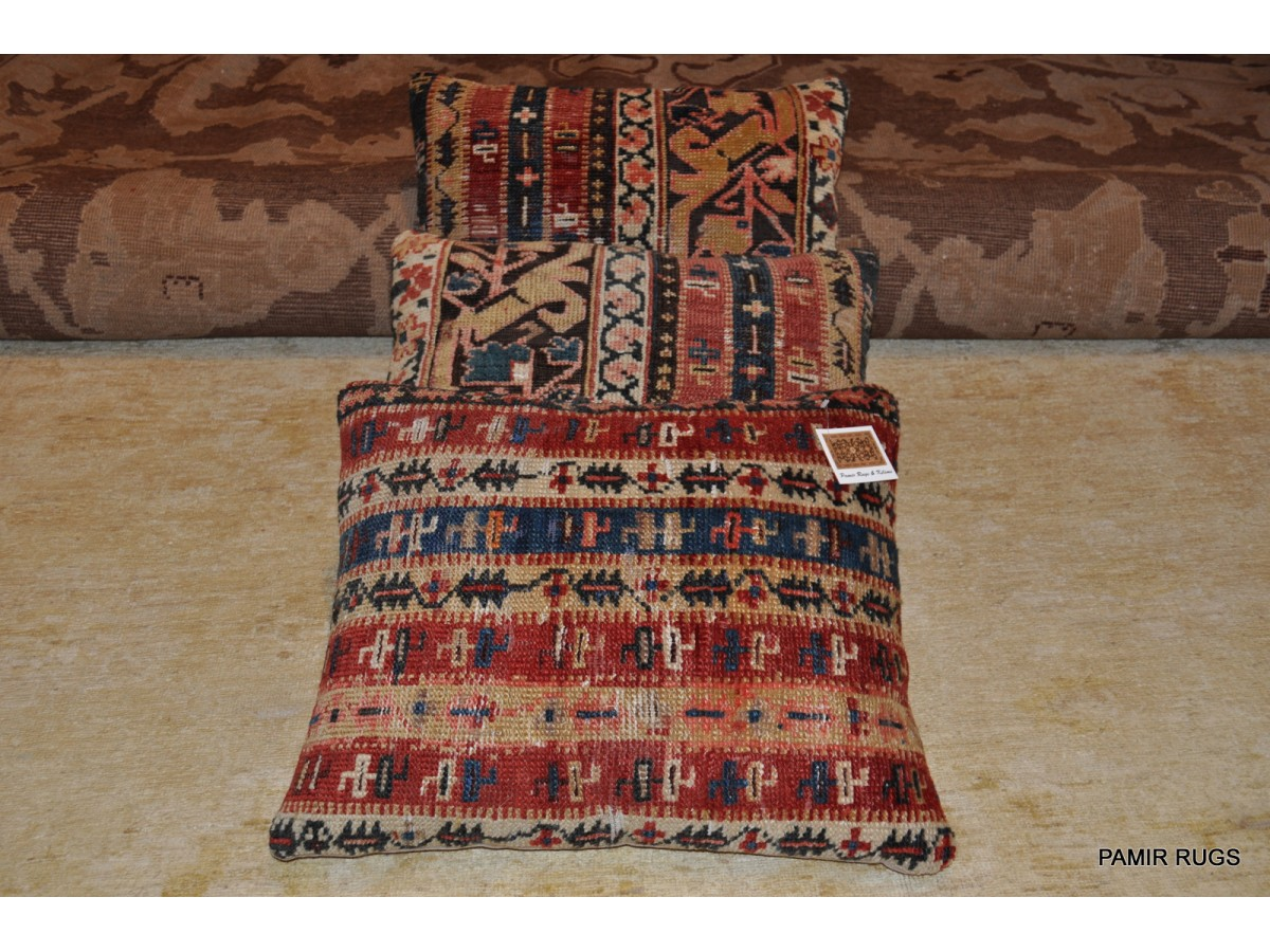 3 Antique Handmade Caucasian Pillow For Only 450 00 From