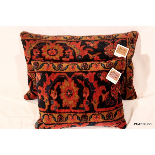 Antique Lilihan Pillows Handmade from Lilihan Rug