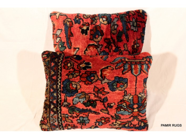 Antique Persian Lilihan Pillows