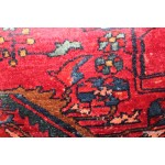 Pair of Handmade Antique Persian Lilihan Rug