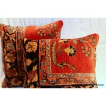 Antique Sarouk Pillows