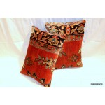 Antique Persian Sarouk Pillows