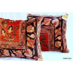 Mahajeran Sarouk Antique Pillow