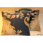 Pair of Handmade Aubusson Pillow