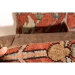 Antique Persian Serapi Small Pillows