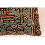 Antique Persian Serapi Pillow