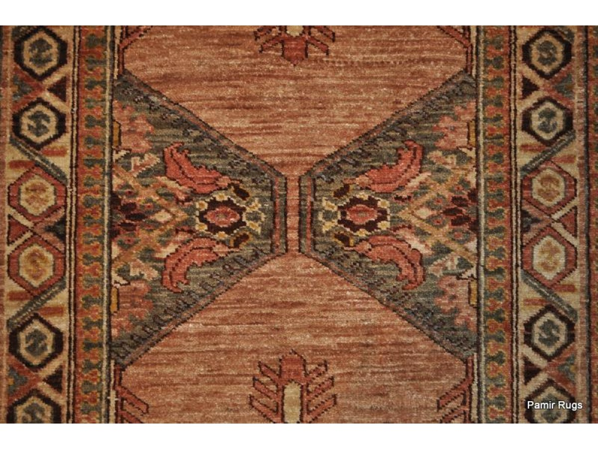 10 Ft Long Hall Runner Persian Serab Rug Vegetable Dyed