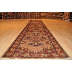 Authentic Persian Hall Runner Camel Color
