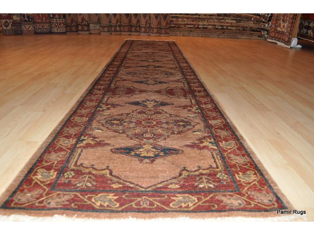 12 Ft Fine Quality Handmade Hall Runner Persian Heriz