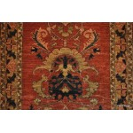 10' Hall Runner Handmade Persian Rust Rug