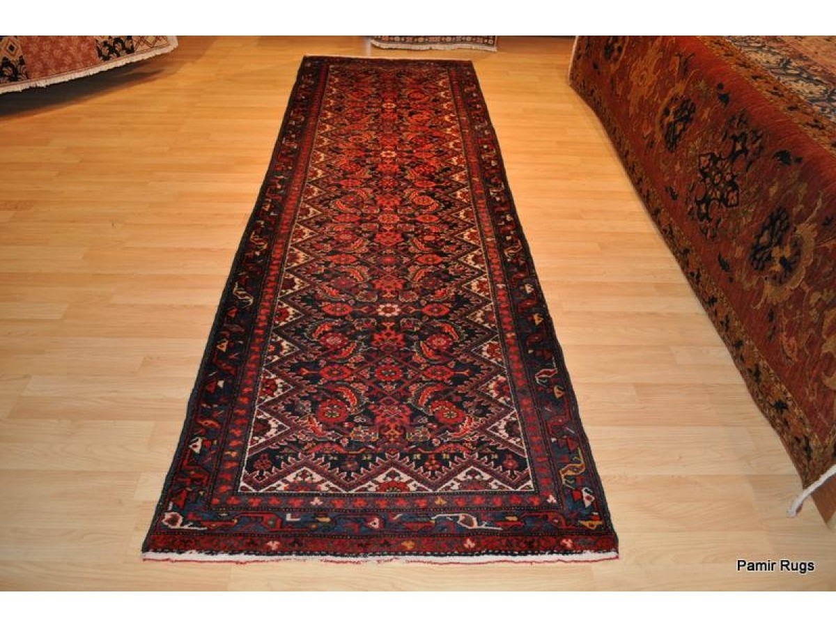 on sale for only 1 250 authentic persian hall runner red and blue wool hall runner last. Black Bedroom Furniture Sets. Home Design Ideas