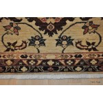 "10'4"" Long Hall Runner, Beige Background"