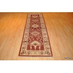 9 Foot Long Persian Red Color Hall Runner.