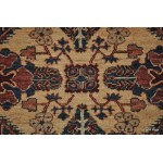 Caucasian Design Handmade Rug. Engel Kazak Design Blue Hall Runner