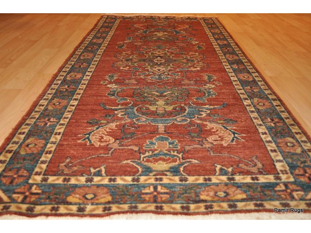 6 Ft Long Handmade Rustic Color Persian Small Hall Runner