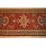 8 Ft Long Vegetable Dyed Rust Color Vegetable Dyed Runner