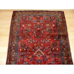 7 Ft. Long Hall Runner Antique Persian Sarouk Lilihan Handmade