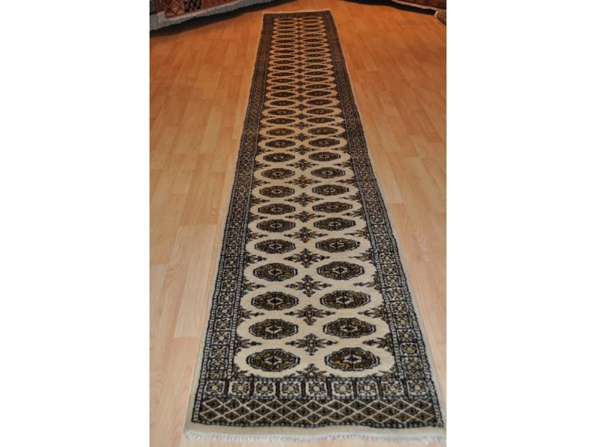 On Sale Handmade Hand Knotted 15 Ft Long Pakistan Bukhara