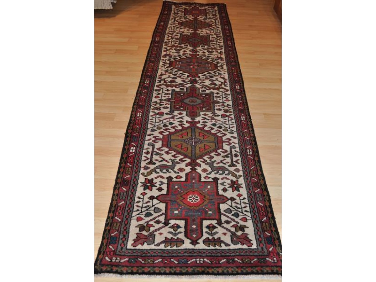 On Sale Only 950 11 Foot Long Authentic Persian Heriz Runner