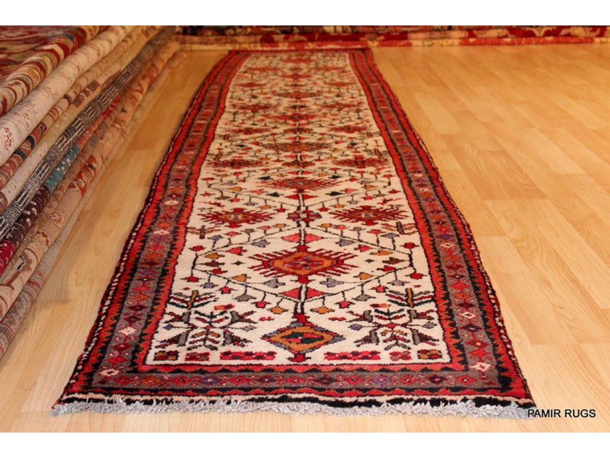 persian hall runner on sale only 650 for this beautiful handmade persian hariz rug tribal. Black Bedroom Furniture Sets. Home Design Ideas