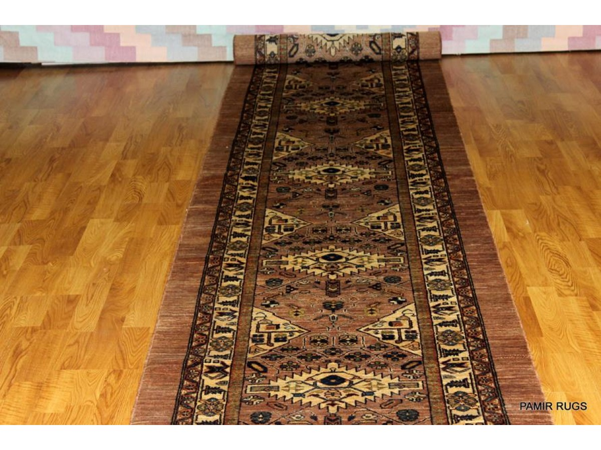 One Of A Kind Handmade Long Runner Persian Handmade With