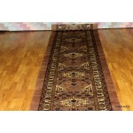 Persian Serab, Heriz Design 22 Ft. Long Hall Runner Salmon