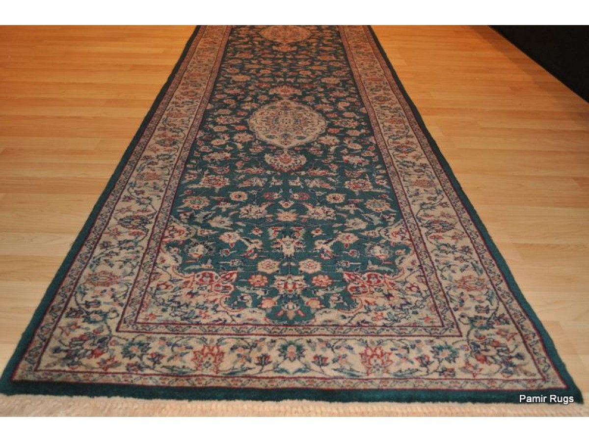 10 Foot Green Runner Rugs