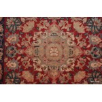 12' Long High Quality Hall runner red, navy