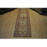 Vegetable Dyed Rug. Elegant Muted, soft color, beige and gold.