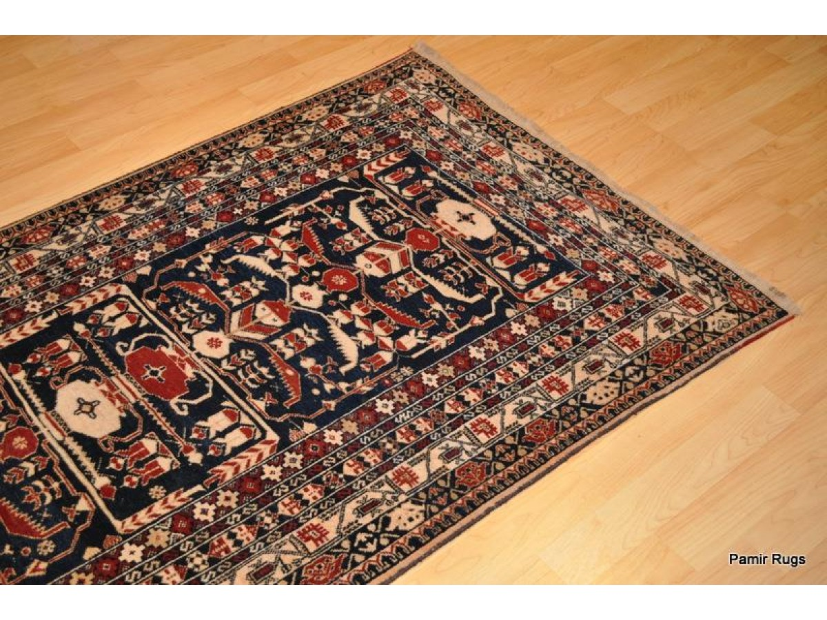 Handmade Tribal Bluch Or Baluch Rug Made Out Of 100