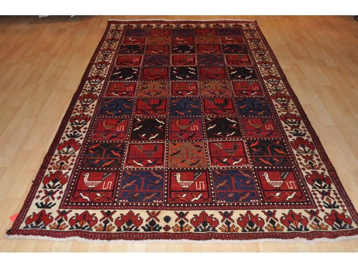 Authentic Real Persian Rug Wide Hall Runner Made Out Of
