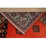 12 Ft. Poppy Red Handmade Persian Hall Runner