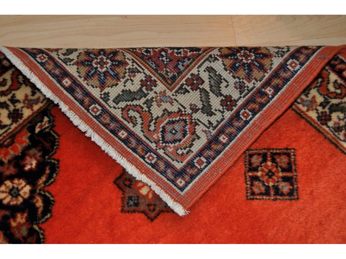Persian Tabriz Hall Runner 12 Ft Elegant Authentic