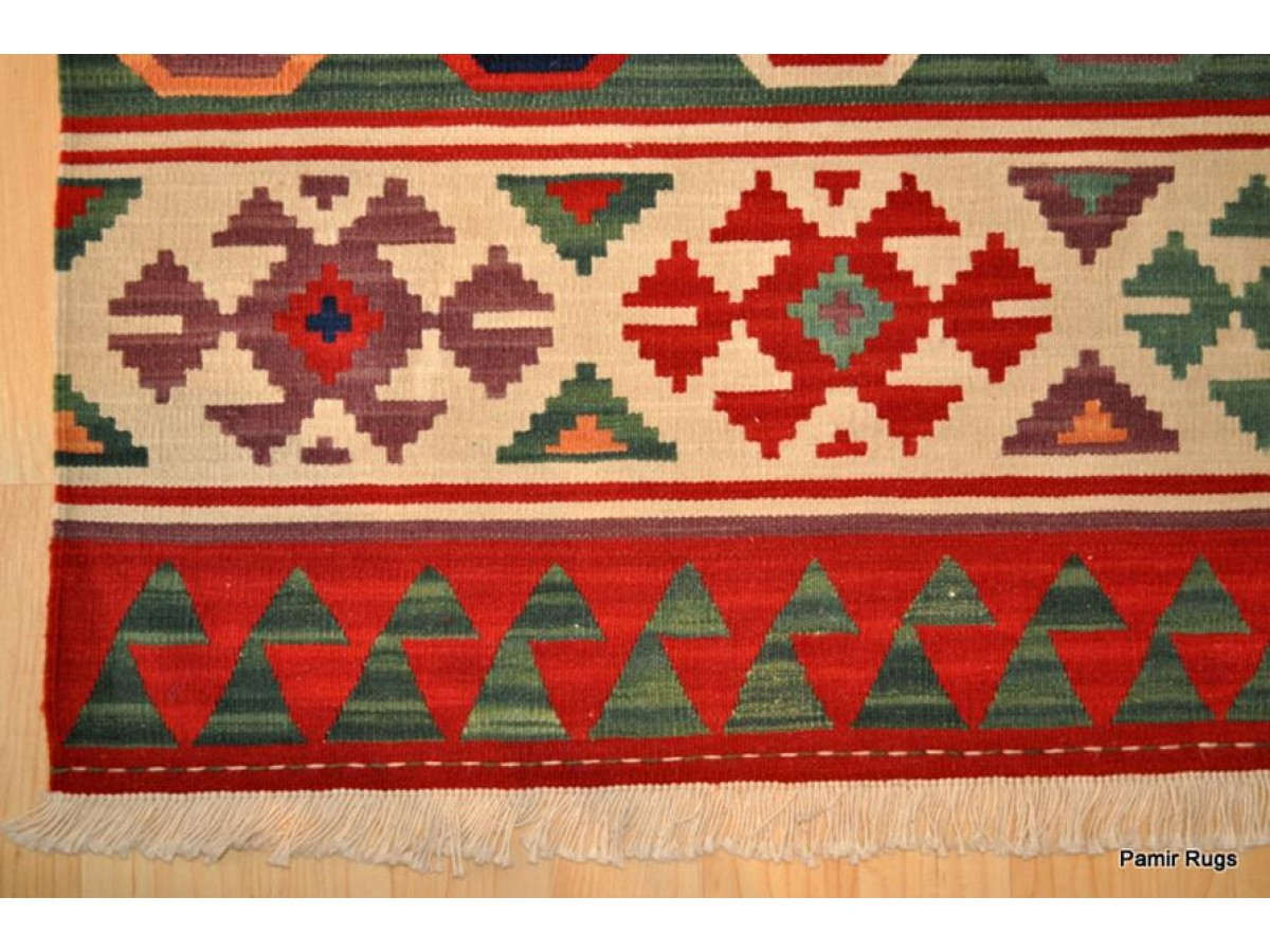 Handmade Turkish Kilim On Sale 100 Wool Hand Woven Fine