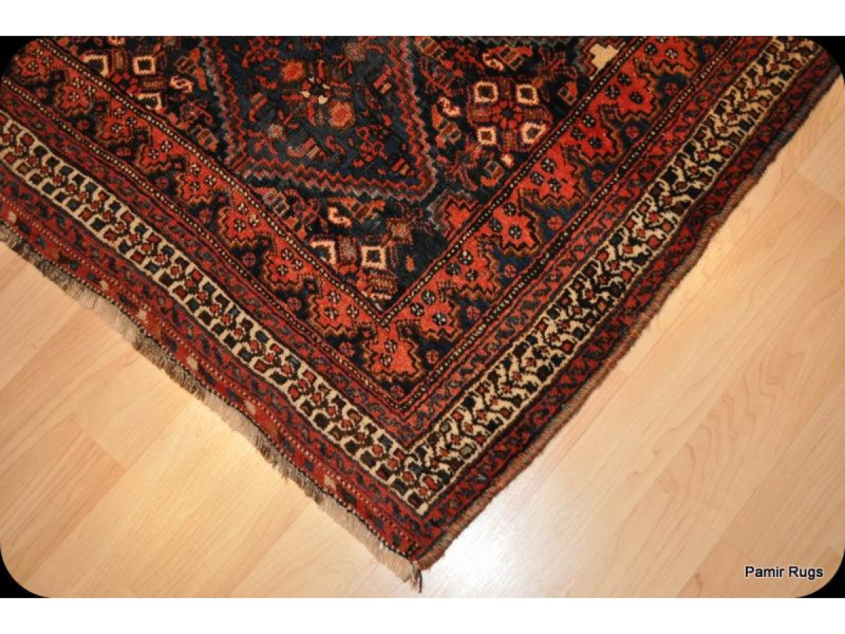 Authentic Handmade North West Persian Rug From Kurdish Tribes Turn