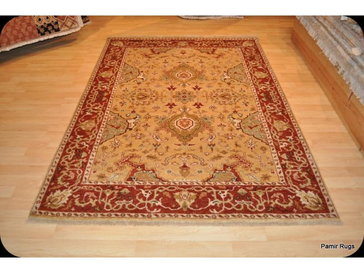 Handmade Persian Wool Rug Hand Knotted On Sale Only 1 450