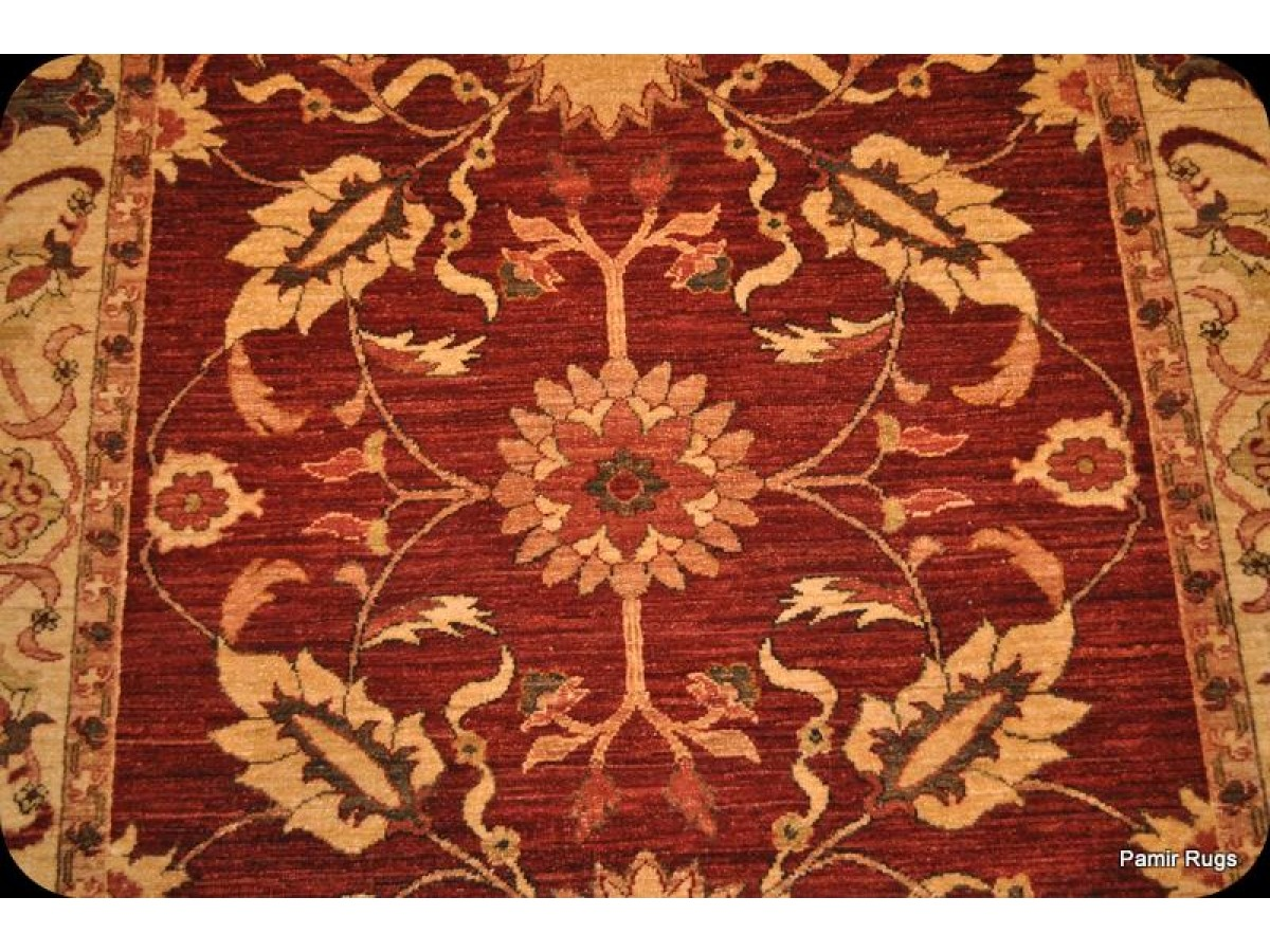 Vegetable Dye Handmade 5 X 8 Fine Quality Rug Made With