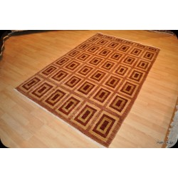 5' X 7' Handmade New Vegetable Dyed Rug Gabbeh Design