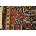 Antique Caucasian Shirvan 19th century Eagle Kazak