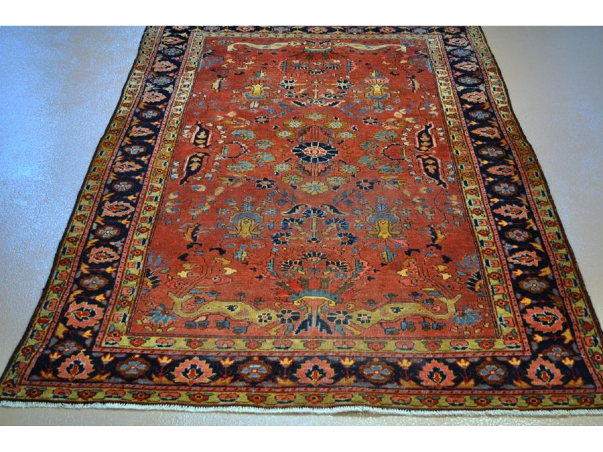 Persian Sarouk Made In Iran From 1920 S In Good Condition