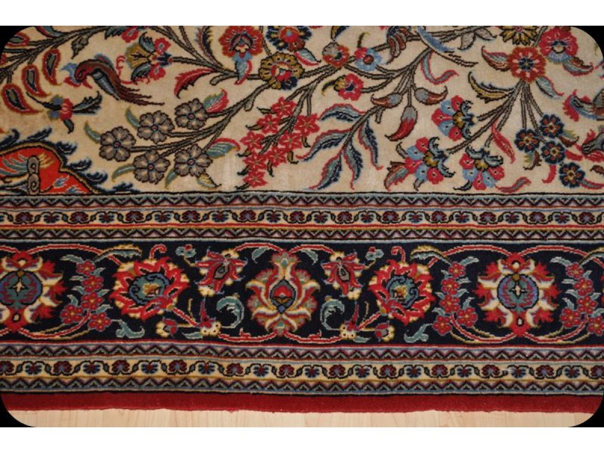 5 X 7 Persian Qum Rug Tree Of Live Design
